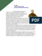 Biografia y Vida de Augusto Comte