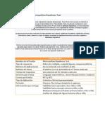 Nforme Prueba Metropolitan Readiness Test
