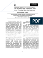 Kedokteran Di Zaman Nabi Muhammad SAW Implikasinya Terhadap Nilai Nilai Kesehatan