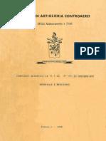 Complesso Quadruplo 12,7mm Affusto M55 1968 SAC MI
