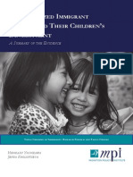 Immagrants and Child Development