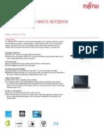 Fujitsu LiFEBOOK NH570 NOTEBOOK