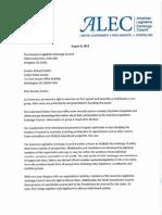 Durbin Response Letter