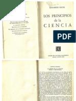 Eduardo Nicol La Crisis de La Ciencia Fisica y Metafisica