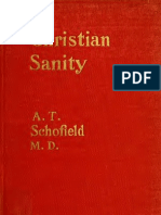 Alfred T. Schofield - Christian Sanity (1908)
