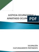 Justicia Ocupacional y Apartheid Ocupacional Parte II (1)