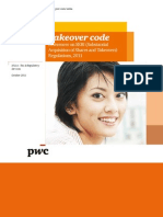 Regulations - Takeover Codes PWC Report