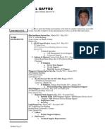 Resume - Troy Gaffud - IT Helpdesk Specialist