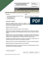 Procedimiento Auditorias Internas SIG v1