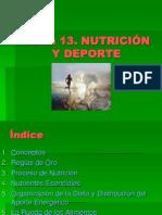Fundamentos Tema 13. Nutrición