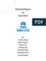 Financial Analysis of Tata Steel Ltd