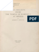 MMA - H. Winlock - temple of Ramses I at Abydos - 1931.pdf