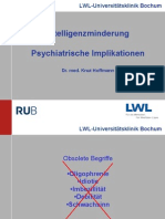 12 Intelligenzminderung Psychiatrische Implikationen
