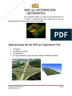 Gis Ingenieria Civil