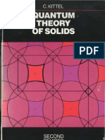 Quantum Theory of Solids - Charles Kittel