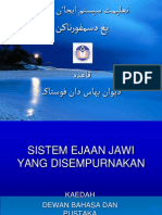 Sistem Ejaan Jawi DBP (SBB)New