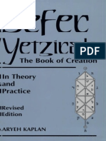 Kaplan - Sefer Yetzirah, The Book of Creation in Theory and Practice
