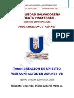 ASP.net Vb Sistema Contactos