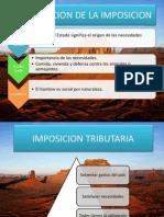 Capitulo II Imposicion Tributaria