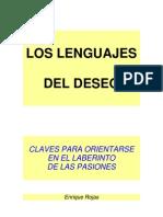 ENRIQUE ROJAS, Los Lenguajes Del Deseo