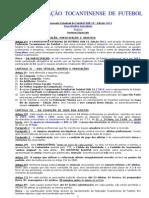 Normas Especiais Estadual SUB 19 2013