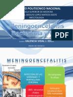 Meningoencefalitis Bacteriana y Viral