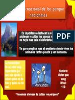 Día internacional de los parque nacionales