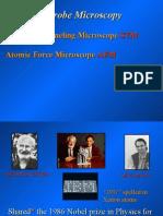 AFM and STM