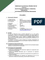 Syllabus Maquinaria IA 2012
