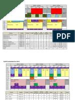 Block Schedule for Handbook - F13