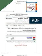 Elite Software Chvac ver لمهندسى التبريد والتكييف
