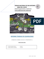 Quinolonas y Fluoroquinolonas
