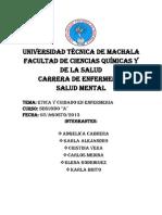 Etica y Bioetica Grupal