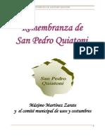 remembranza quiatoni