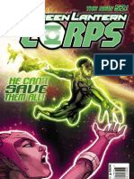 Green Lantern Corps issue 23 Exclusive Preview