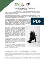 "Compañía Nacional de Danza brindará curso de Danza Contemporánea con maestro ""Pepe Hevia"""