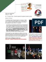 Letter to Rex Tillerson 13-08-12 Megaload Resistance