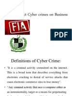 Cyber Crimes s