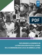PNUD - Participación Juvenil en la gobernabilidad local