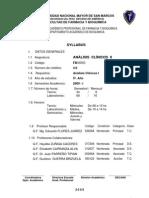 Analisis Clinicos II Flores Juarez 2009 I Noveno Ciclo