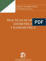 Pascuela Villalobos - Practicas de Optica Geometrica Y Radiometrica