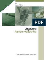 Manual Sobre Programas de Justicia Restaurativa, Naciones Unidas