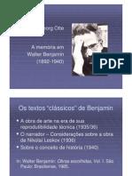 GEORG-A Memoria Em Walter Benjamin