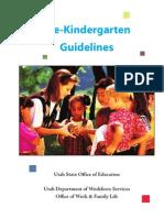 Prekindergarten Guidelines Final Draft