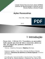 Apresentação - Aula de A. Possessórias (final)