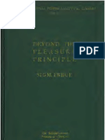 Freud 1922 Beyond the Pleasure Principle k Text