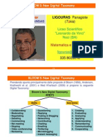 LIGOURAS Panagiote BLOOM's New Digital Taxonomy 2013 00