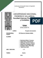 ENCUESTA DE OPINIÓN PARA EL ESTUDIO DE MERCADO DE YOGURT EN BOTELLA DE LITRO
