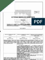 Comparativo / Modificaciones Proyecto Ley MGP / agosto 2013