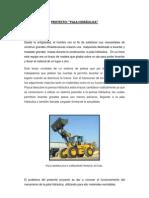 Proyecto de Ciencia Pala Hidraulica
